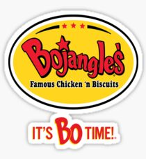 Bojangles Restaurant It's Bo Time!  Sticker