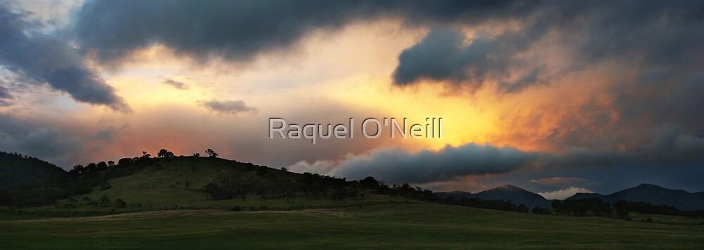 Stormy Sunset by Raquel O'Neill