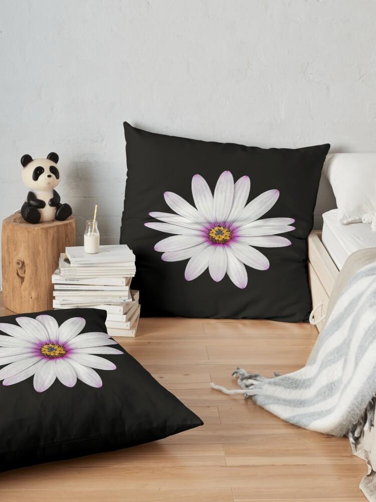Alternate view of African Daisy Floor Pillow