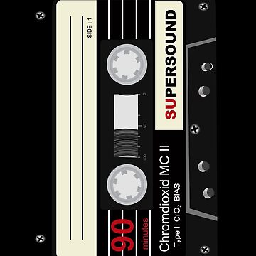 Audio Cassette Mix Tape  by CroDesign