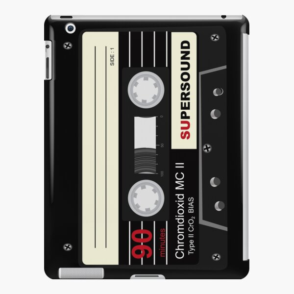 Audio Cassette Mix Tape  iPad Snap Case