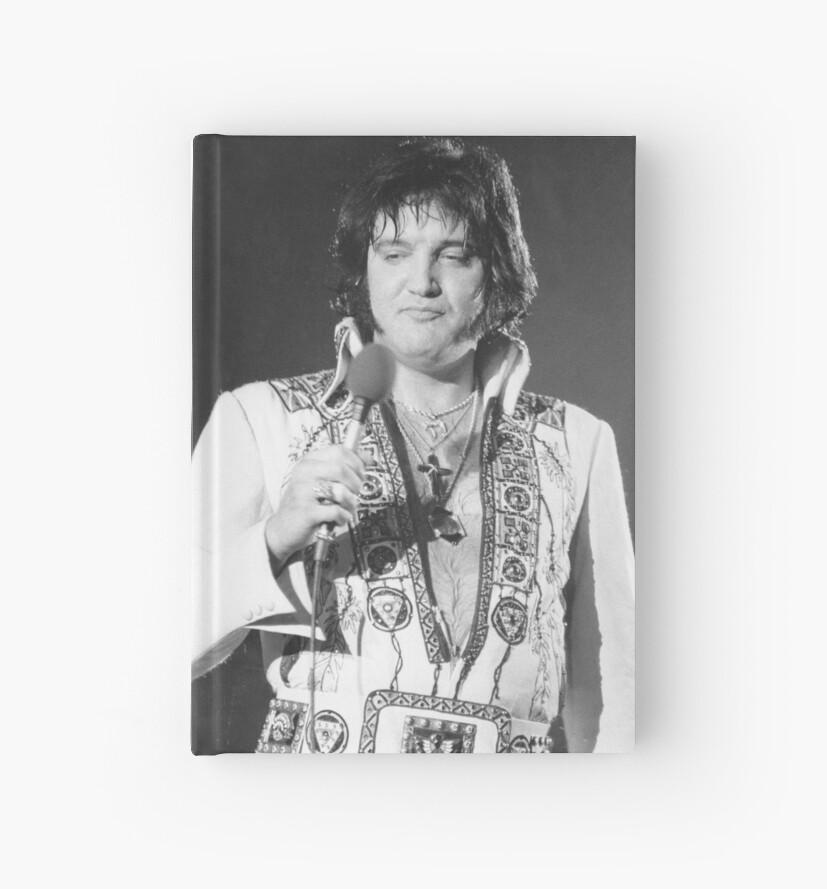 Cuadernos de tapa dura «Elvis Presley, rey del rock and roll, hacia ...