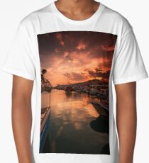 SUNSET MOORINGS Long T-Shirt