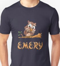 Emery Owl Unisex T-Shirt