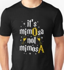 It's MimOsa not MimosA Stars White Unisex T-Shirt