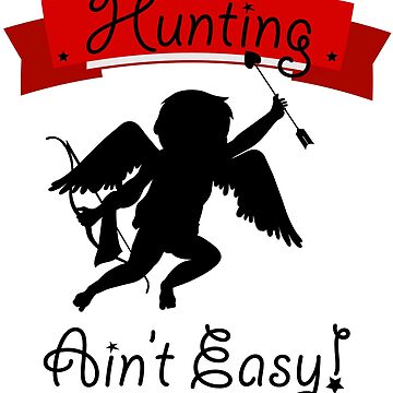 Hunting Cupid Valentine themed design  by MNA-Art