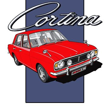 Ford Cortina 1600 E by limey57