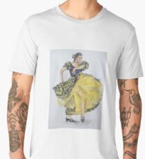 Flamenco - Yellow Men's Premium T-Shirt