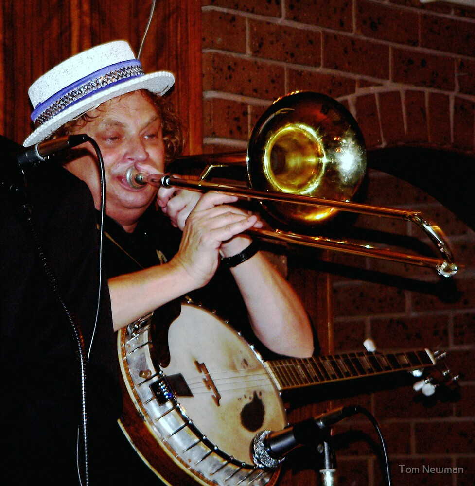 Trombone Player by Tom Newman