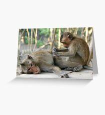 Monkey Island Pals Greeting Card
