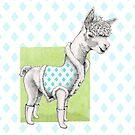 Alpaca Illustration by Mariana Musa