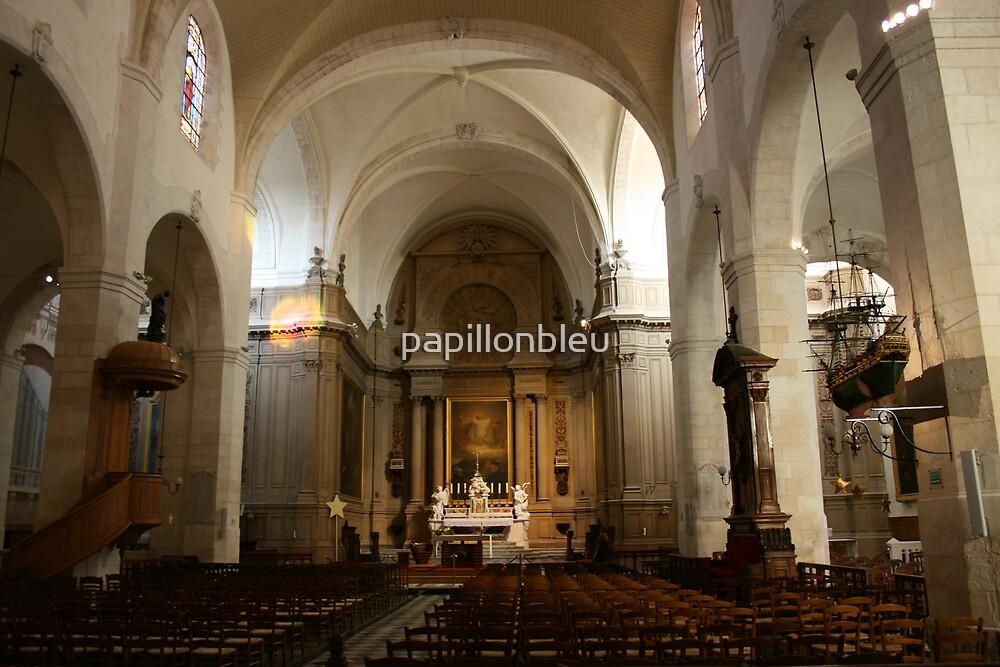 L'eglise Saint-Sauveur by Pamela Jayne Smith