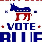Dont Boo Vote Blue 2018 by EthosWear
