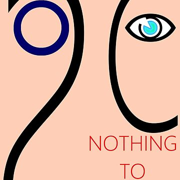 Nothing To See Design by muz2142