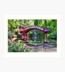 Crim Dell Bridge William and Mary Art Print