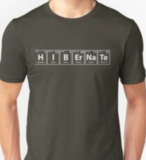 Hibernate Elements Rechtschreibung Slim Fit T-Shirt