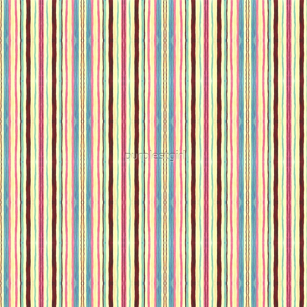 pastel stripes by purplestgirl