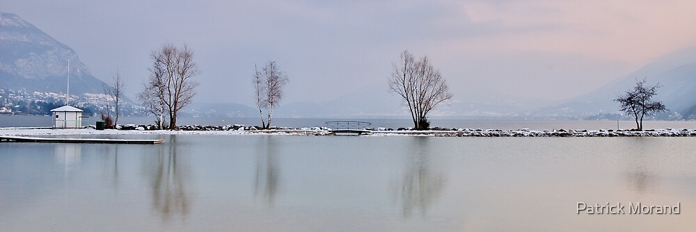 A cold time at Annecy lake by Patrick Morand