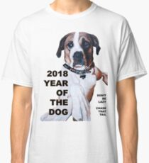 The Year of the Dog 2018 Classic T-Shirt