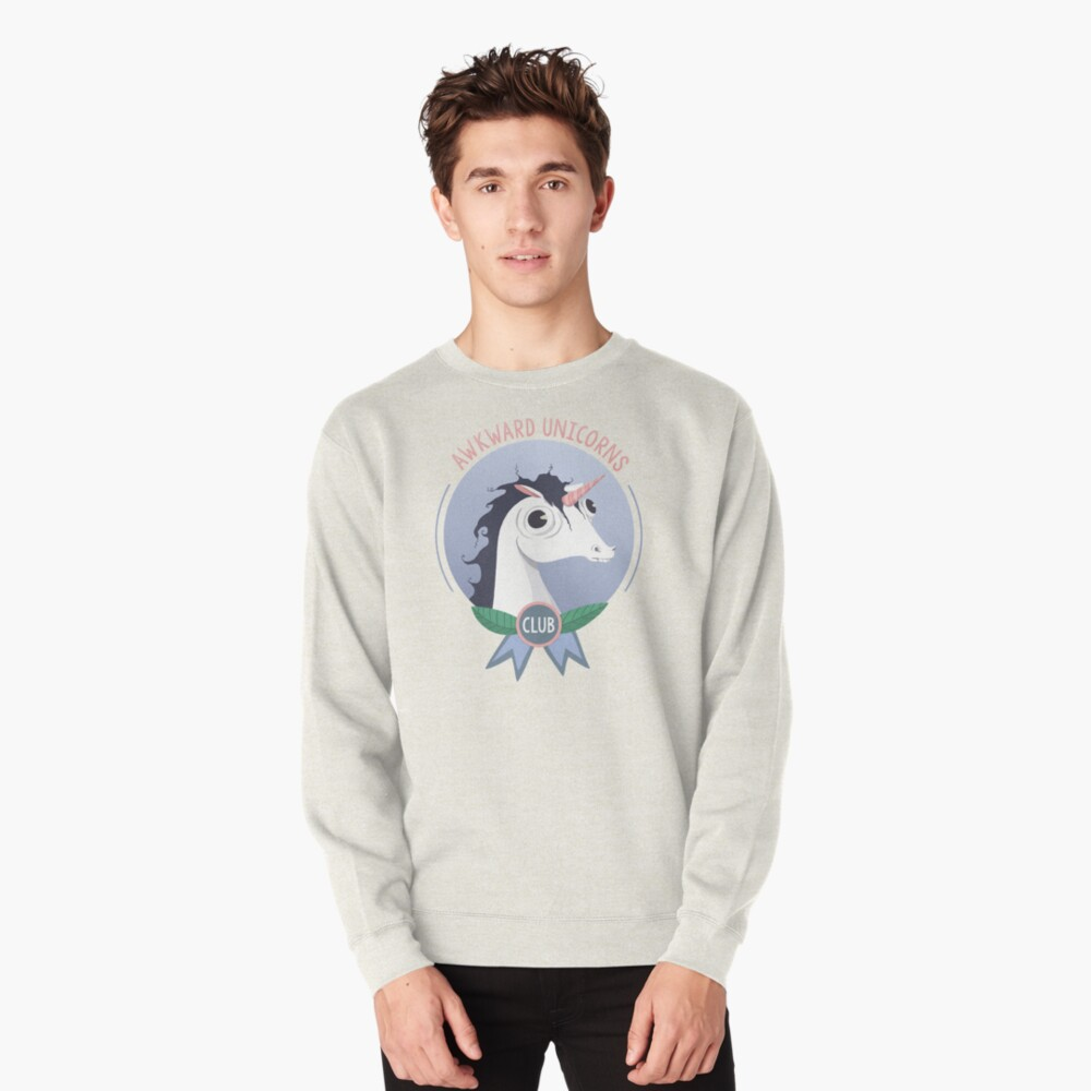 Awkward Unicorns Club Pullover Sweatshirt