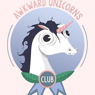 Awkward Unicorns Club de agrapedesign
