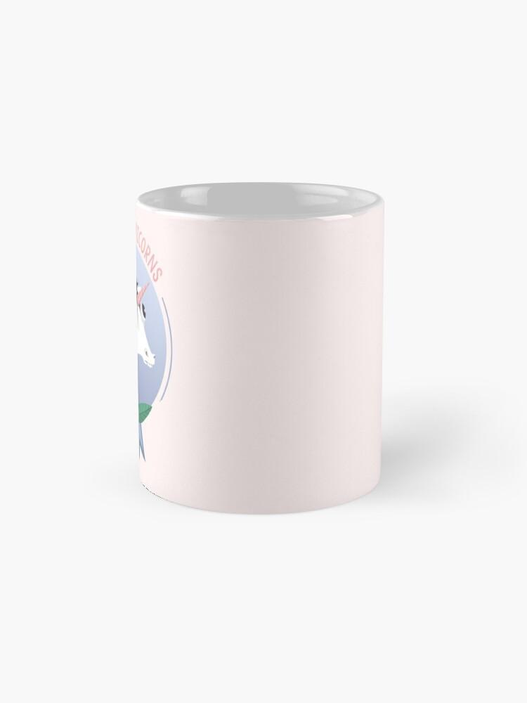 Alternate view of Awkward Unicorns Club Mug
