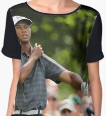Tiger Woods Chiffon Top