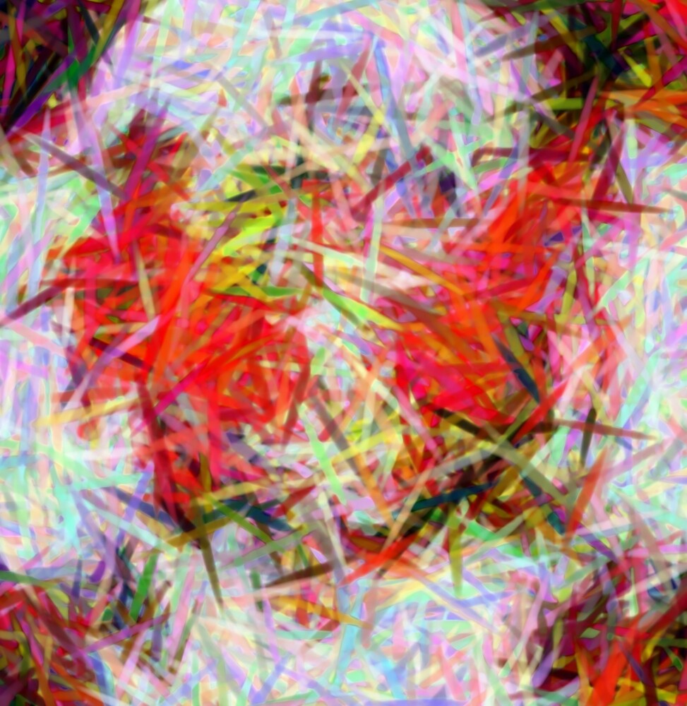 Abstract Colour Chaos by JEmanuel