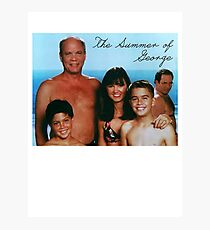 The Summer of George Photographic Print