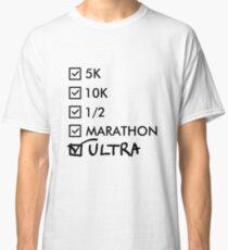 Ultra Marathon Running Classic T-Shirt