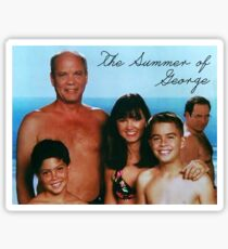 The Summer of George Sticker