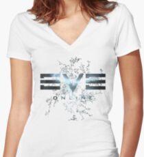 Eve Online - New Eden Women's Fitted V-Neck T-Shirt