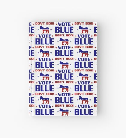 Dont Boo Vote Blue 2018 Hardcover Journal