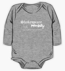 Shakespeare-Affe Baby Body Langarm