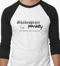Shakespeare Monkey Men's Baseball ¾ T-Shirt