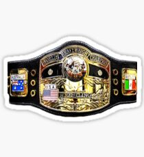 World Heavyweight Championship Belt Sticker