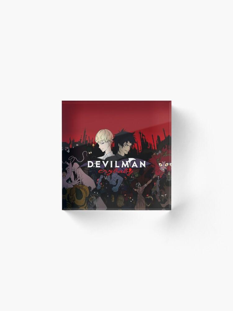 Vista alternativa de Bloque acrílico Devilman Crybaby
