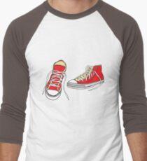 Vintage Converse  Men's Baseball ¾ T-Shirt