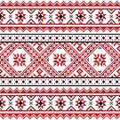 Ukraine Pattern - Ukrainian embroidery: вишивка, vyshyvka by znamenski