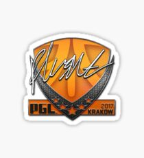 PGL Krakow 2017 Flusha Sticker