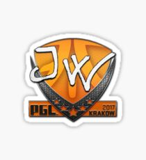 PGL Krakow 2017 JW Sticker