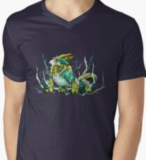 Zinogre V-Neck T-Shirt