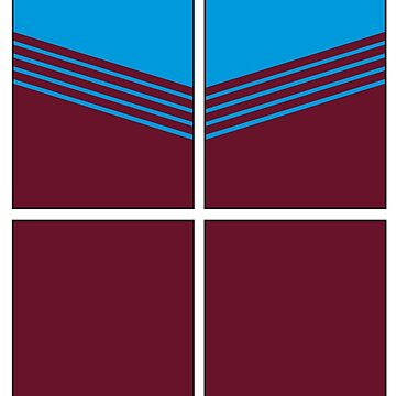 West Ham '80 by TileSoccer