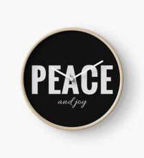 Design Day 9 - Peace & Joy - January 9, 2018 Clock