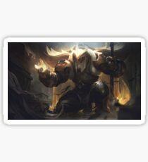 Warrior Of Light Sticker