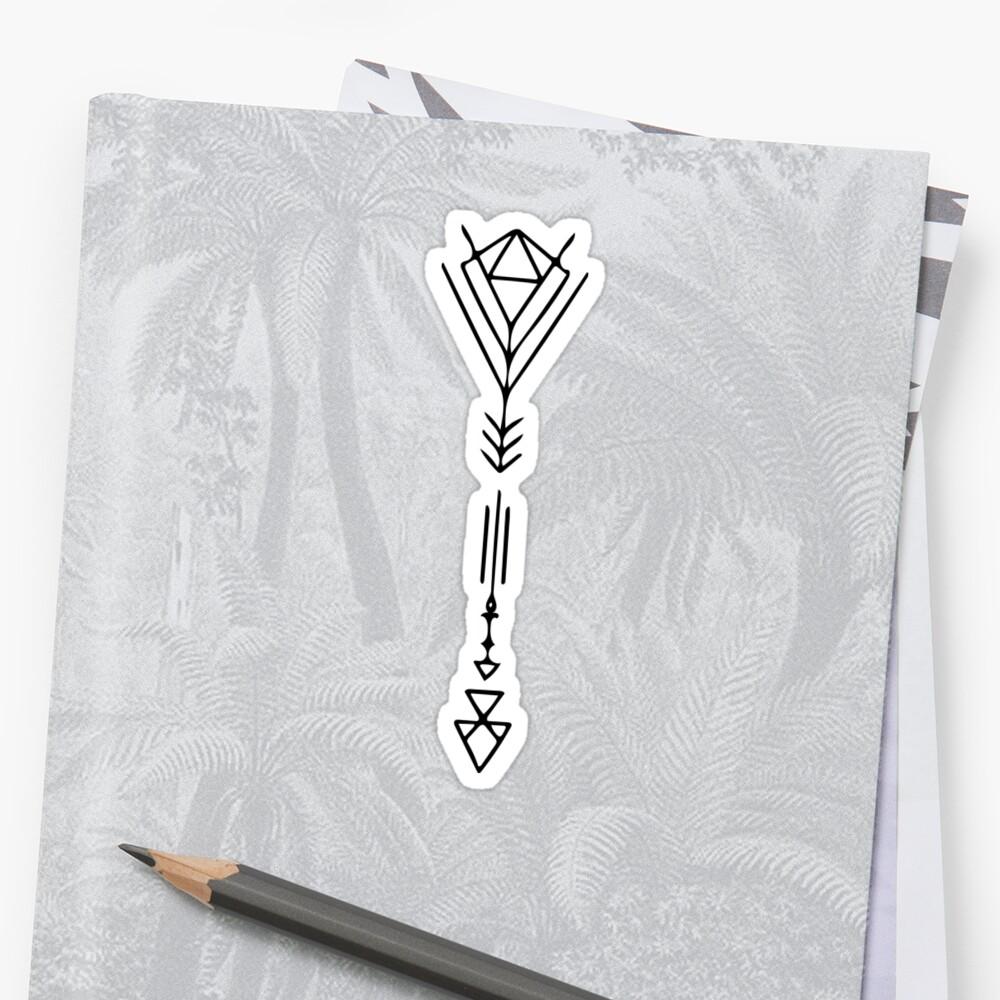 Geometric Arrow by LoraMaze