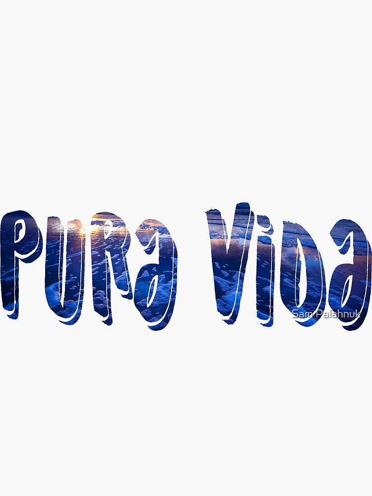 PURA VIDA sticker by sampalahnukart