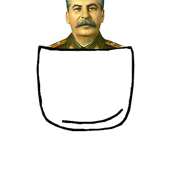 Pocket Stalin by jillexdxdxdxd