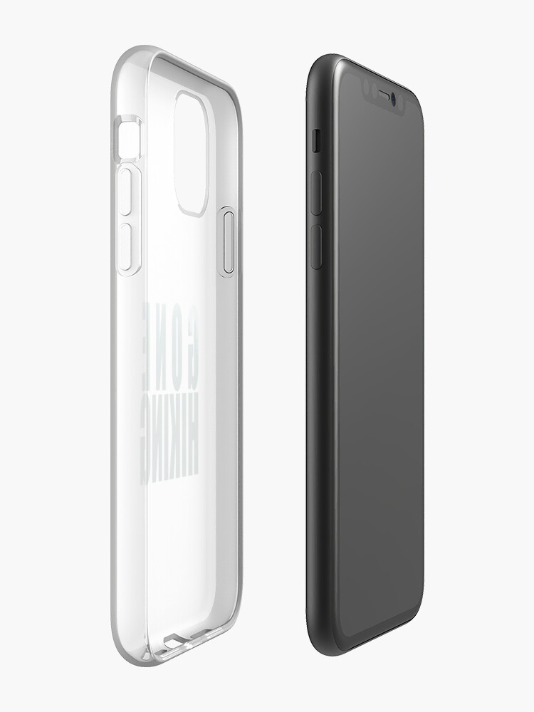 Alternate view of gone hiking  iPhone Case & Cover