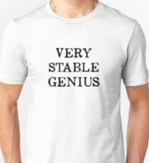 Very Stable Genius T-Shirt Unisex T-Shirt